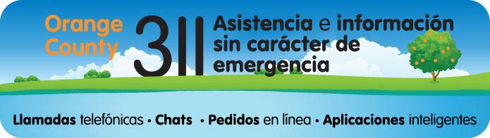311 Para Llamadas sin Carácter de Emergencia - Ayuda e Información