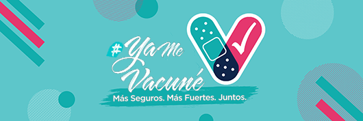 """Logo """"Ya me vacuné"""""""