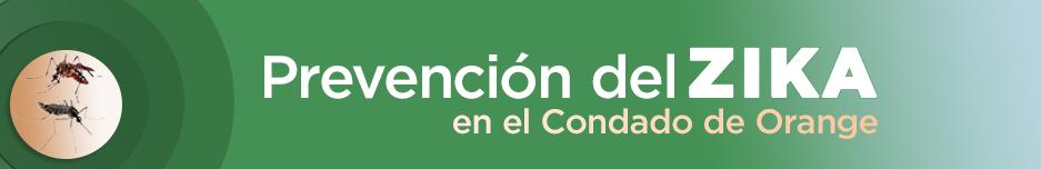 Banner de Prevención del Zika