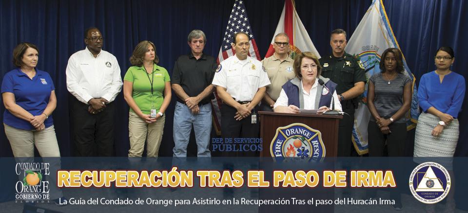 La guía del Condado de Orange para asistirlo con la preparación para emergencias y las inclemencias del tiempo