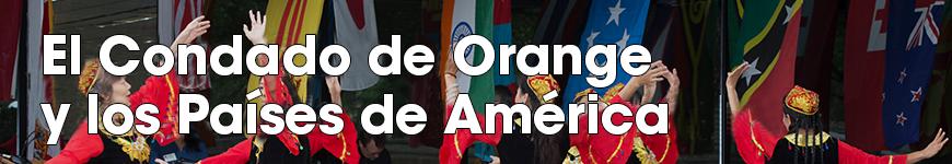 Banner de El Condado de Orange y los Países de América