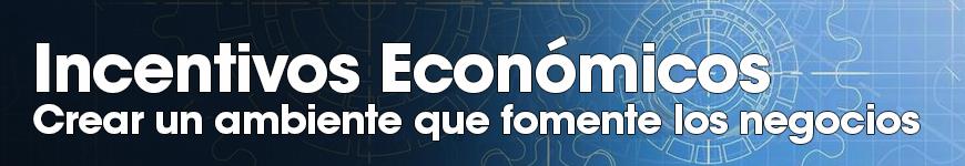 Incentivos Económicos: crear un ambiente que fomente los negocios