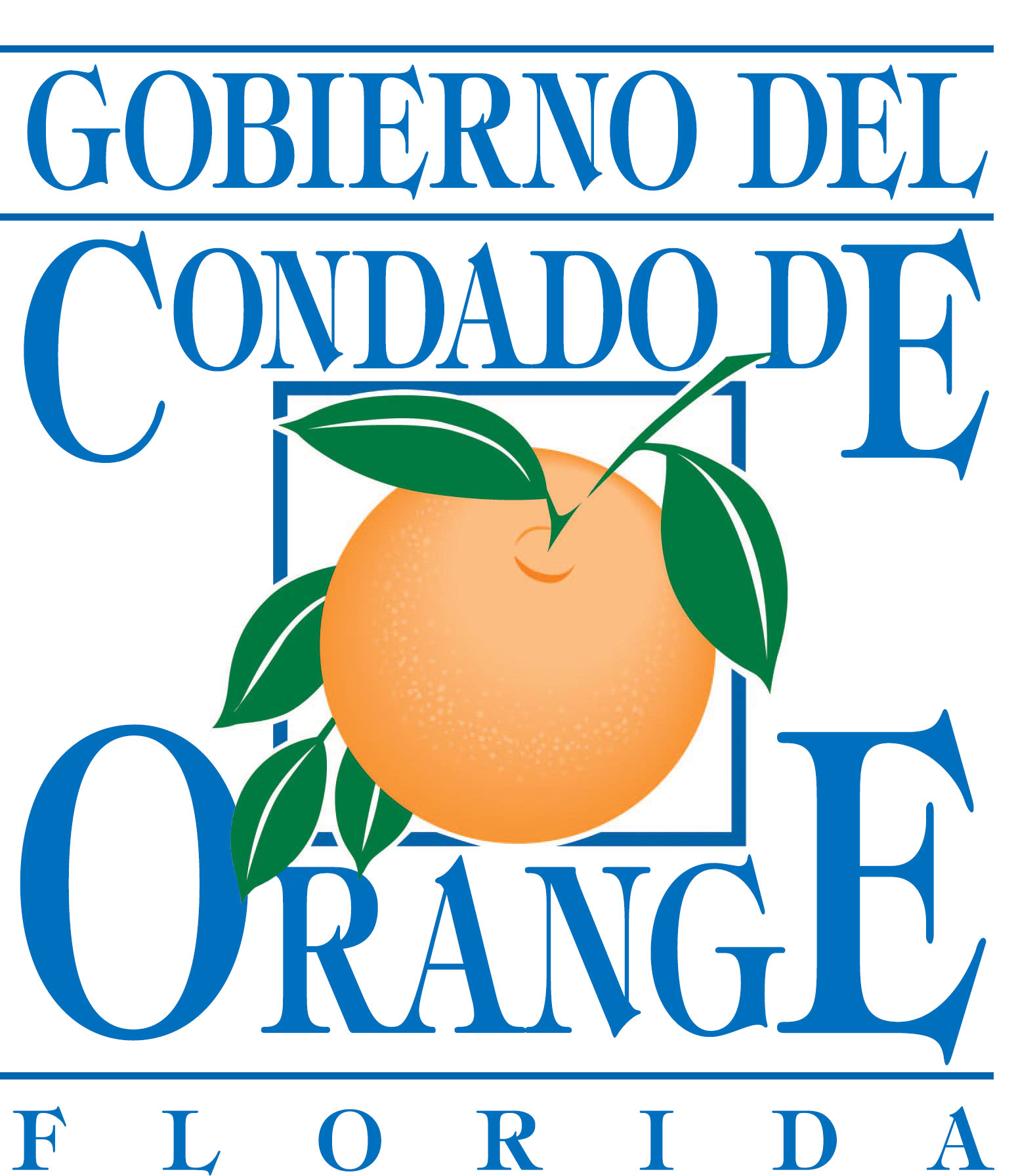 Logotipo del Gobierno del Condado de Orange